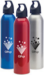 24oz American Aluminum Water Bottles